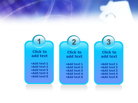 Lock And Key PowerPoint Template Slide 16