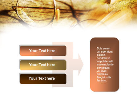 Old Glasses and Books PowerPoint Template Slide 11