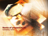 Education & Training: Geheimschrift PowerPoint Template #01060