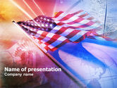 America: American Antiquity PowerPoint Template #01062