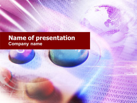 Telecommunication: Remote Control PowerPoint Template #01063