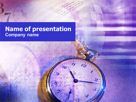 Chain Watch PowerPoint Template, 01064, Business — PoweredTemplate.com