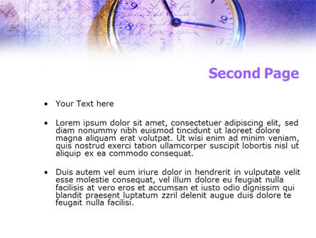 Chain Watch PowerPoint Template, Slide 2, 01064, Business — PoweredTemplate.com