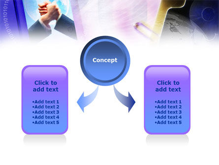 Web Business Cooperation PowerPoint Template, Slide 4, 01066, Business Concepts — PoweredTemplate.com