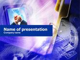 Business Concepts: Plantilla de PowerPoint - cooperación empresarial web #01066