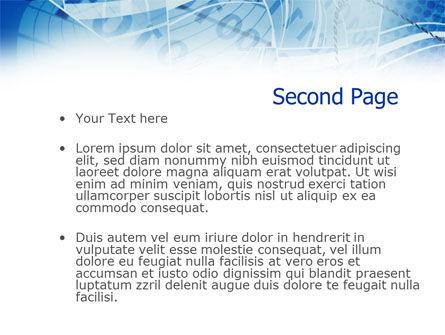 Computer Coding PowerPoint Template, Slide 2, 01070, Telecommunication — PoweredTemplate.com