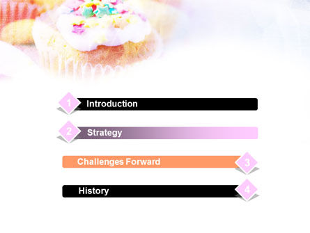 Holiday Fruitcakes PowerPoint Template, Slide 3, 01073, Food & Beverage — PoweredTemplate.com