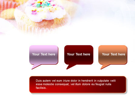 Holiday Fruitcakes PowerPoint Template Slide 9