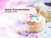 Food & Beverage: Holiday Fruitcakes PowerPoint Template #01073