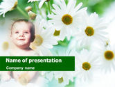 People: Wonderful Childhood PowerPoint Template #01074