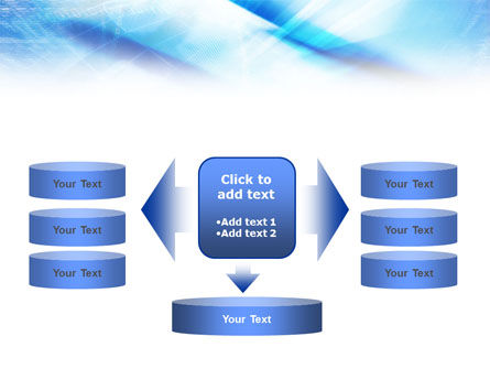 Blue IT Theme PowerPoint Template Slide 13