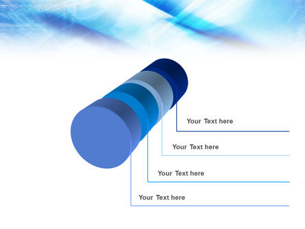 Blue IT Theme PowerPoint Template Slide 7