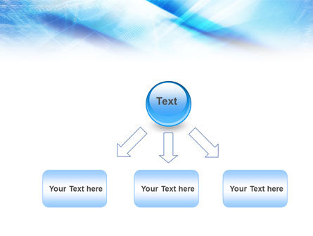 Blue IT Theme PowerPoint Template Slide 8