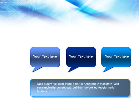 Blue IT Theme PowerPoint Template Slide 9