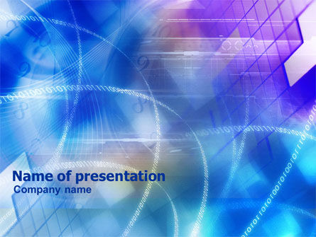 Technology and Science: Timely IT Solutions PowerPoint Template #01079
