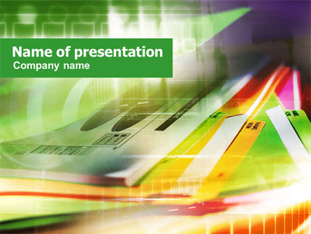 Consulting: Paper Folders PowerPoint Template #01081