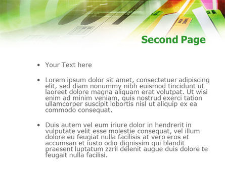 Paper Folders PowerPoint Template, Slide 2, 01081, Consulting — PoweredTemplate.com