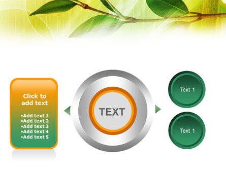Green Stick PowerPoint Template Slide 12