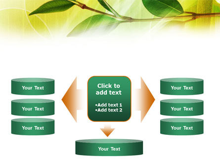Green Stick PowerPoint Template Slide 13