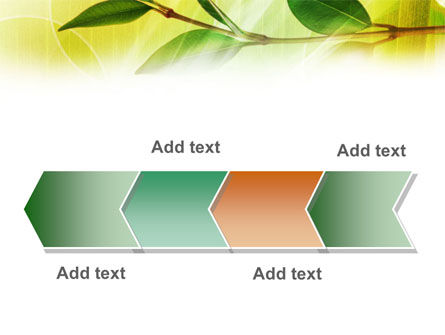 Green Stick PowerPoint Template Slide 16