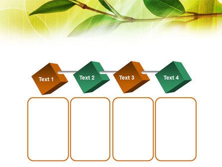 Green Stick PowerPoint Template Slide 18