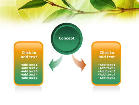 Green Stick PowerPoint Template Slide 4