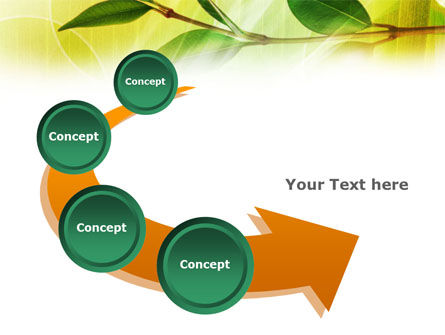 Green Stick PowerPoint Template Slide 6