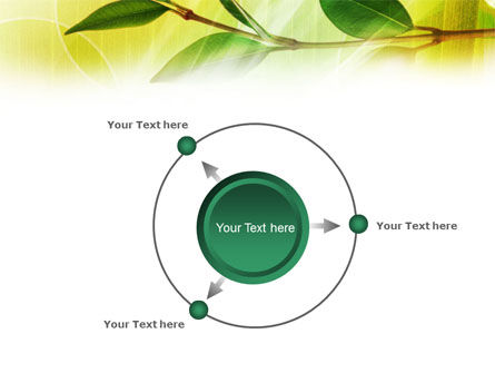 Green Stick PowerPoint Template Slide 7
