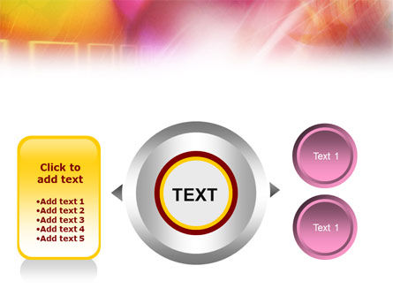 Colorful Technological Theme PowerPoint Template Slide 12