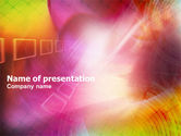 Abstract/Textures: Colorful Technological Theme PowerPoint Template #01086