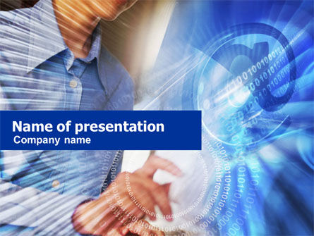 Computer Programming PowerPoint Template, 01088, Business — PoweredTemplate.com