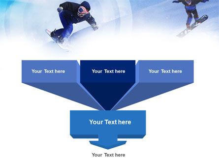Snowboard Jumps PowerPoint Template Slide 3