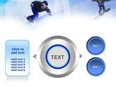 Snowboard Jumps PowerPoint Template#12
