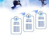 Snowboard Jumps PowerPoint Template#14