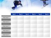 Snowboard Jumps PowerPoint Template#15