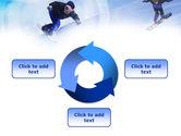 Snowboard Jumps PowerPoint Template#9