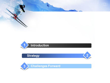 Alpine Skiing PowerPoint Template Slide 3