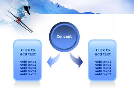 Alpine Skiing PowerPoint Template Slide 4