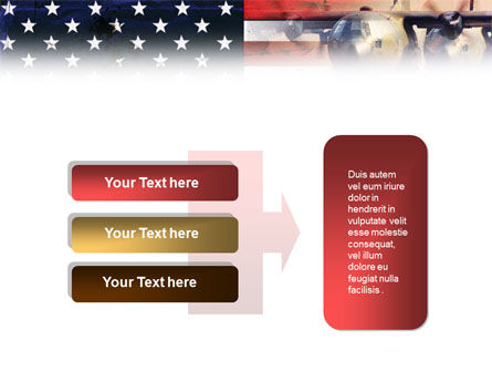 US Military Force PowerPoint Template Slide 11