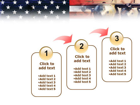 US Military Force PowerPoint Template Slide 14