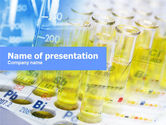 Technology and Science: Chemische untersuchungen PowerPoint Vorlage #01098