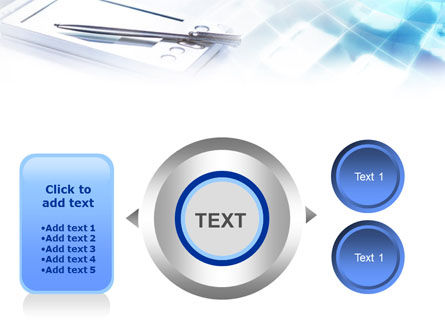 Palm Device PowerPoint Template Slide 12