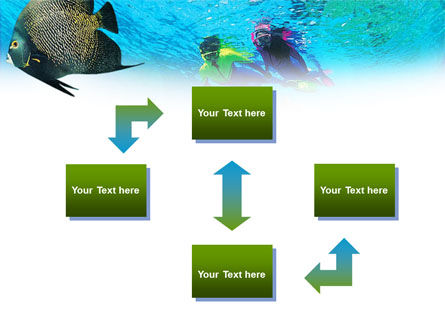 Tourist Diving PowerPoint Template, Slide 4, 01102, Nature & Environment — PoweredTemplate.com