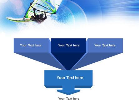 Windsurfer PowerPoint Template, Slide 3, 01103, Sports — PoweredTemplate.com