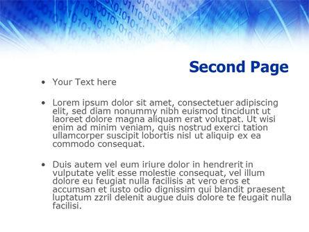 System Code PowerPoint Template, Slide 2, 01106, Telecommunication — PoweredTemplate.com