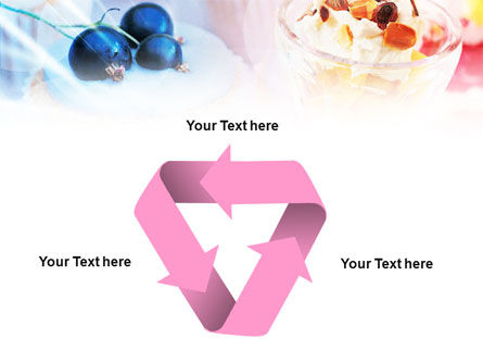 Sweets with Fruits PowerPoint Template Slide 10