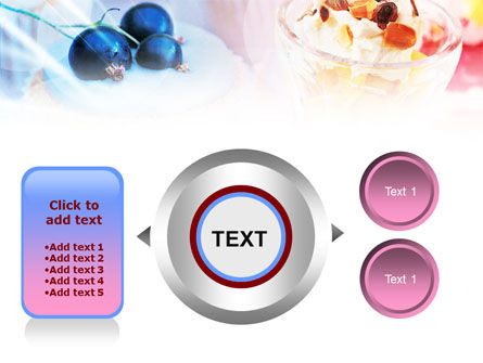 Sweets with Fruits PowerPoint Template Slide 12