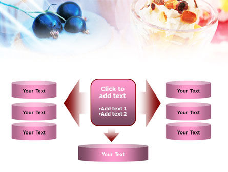 Sweets with Fruits PowerPoint Template Slide 13