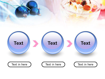 Sweets with Fruits PowerPoint Template Slide 5