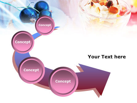 Sweets with Fruits PowerPoint Template Slide 6